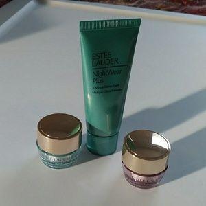 Estee Lauder bundle of facial products